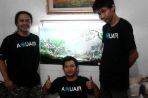 Kediamanan Bpk Ramen Wibisono - Aquairscape