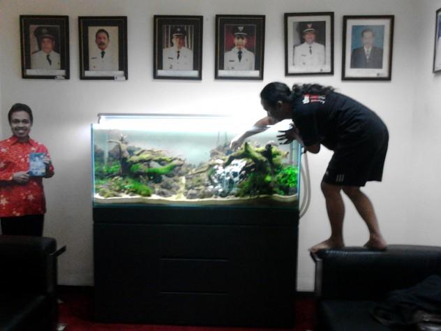 Ruang Tunggu Walikota Depok - Aquairscape
