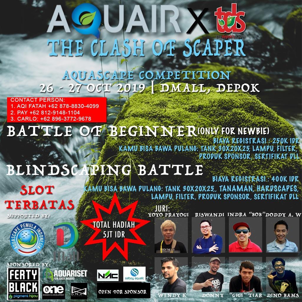 Jasa Pembuatan Aquascape - Aquair Aquascape Competition